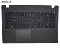 JIANGLUN New For Acer N15Q1 E5-573 Palmrest (Top Case) With Keyboard Touchpad Black color Big Enter version