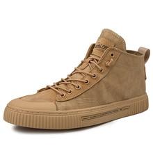 2020 yeni ayakkabı erkekler rahat ayakkabılar yüksek üst Sneakers erkekler vulkanize ayakkabı platformu Sneakers kaliteli erkek spor ayakkabı Masculinas botları