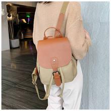 New Women Bags 2019 Female Simple Style Travel Bag Quality Canvas Bucket Shoulder for Rucksack Bolsa Feminina