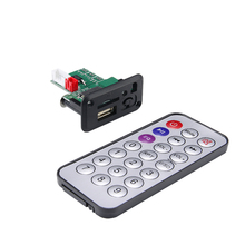 Mini MP3 Audio Decoder Module 5V 12V USB MP3 Player Lossless Decoding Board Diy Kit Electronic PCB With Remote Control For Car