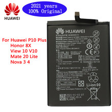 2021 years HuaWei Original Battery HB386589ECW 3650mAh For Huawei P10 Plus Honor 8X View 10 V10 Mate 20 Lite Nova 3 4 Batteries