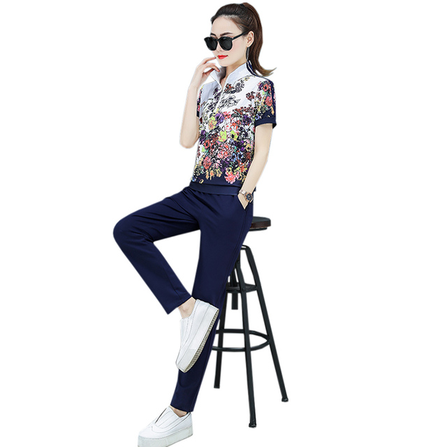 2021 Spring Zipper Cardigan Top and Trousers up and down Two-piece fashion Sweet Maiden long-sleeved Cardigan top Pants suit 5