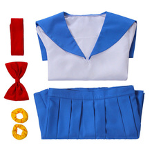 цена на Halloween Costume Classic Anime Pop and Pipi Beauty Daily COS Clothing Sailor Suit Navy Collar Jk Uniform  Anime Cosplay Costume