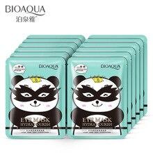bioaqua 20pcs/lot moisturizing, delicate and smooth, black eye mask, moisturizing eyes, facial mask, eye care ojeras patches