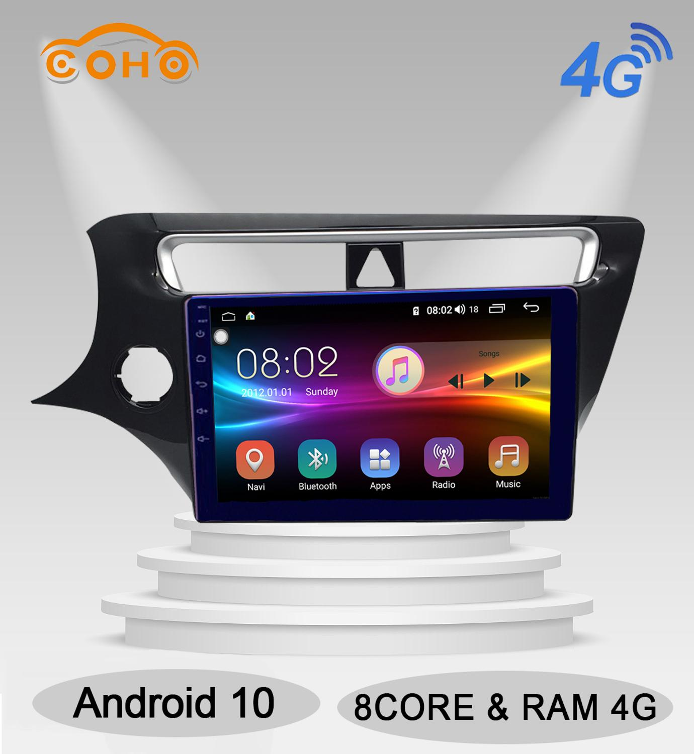 Android 10.0 Octa Core 4+64G Multimedia Player Car Radio Touch Screen For Brilliance V3/V3S 2014-2017