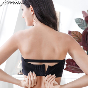 Image 5 - Jerrinut Push Up Bras For Women Underwear Invisible Strapless Bralette Plus Size Brassiere 5XL 6XL 7XL Soutien Gorge Femme