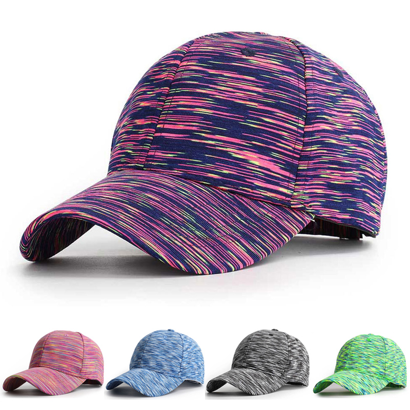 Women Baseball Cap Dad Hat Spring Summer Cotton Sports Colorful Adjustable Breathable Outdoor Accessory