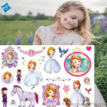 Hasbro Princess Sophia Children Cartoon Temporary Tattoo Sticker For Girl Toy Funny Birthday Party Tool Kid Gift