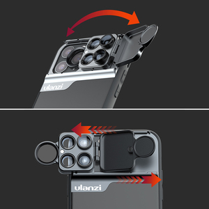 Image 3 - Ulanzi טלפון מקרה 3 ב 1/5 ב 1 טלפון עדשת CPL מסנן/10X/20X מאקרו/Fisheye/2X טלה עדשה עבור iPhone 11/11 Pro/11 Pro מקסימום