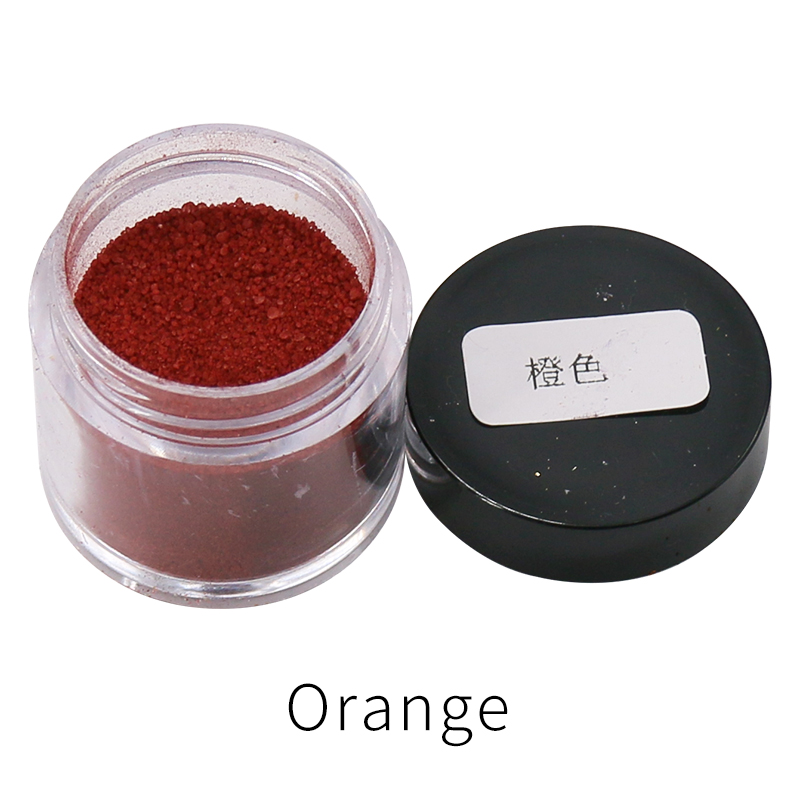 Fabric Dye Pigment Orange Color 10g Fabric Paint For Dye Clothes,Feather,Bamboo,eggs And Fix Faded Clothes Acrylic Paint