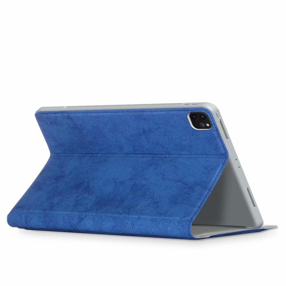 for Case for Pro 2020 Auto 11 Wake iPad Pro Multi-Angle iPad Portfolio Smart Leather 2021 2018 11 Sleep Premium Viewing Cover