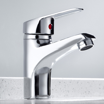 Bathroom Basin Sink Faucet Chrome Single Handle Kitchen Tap Faucet Mixer hot and cold water hose Chrome Finished Mixer Tap