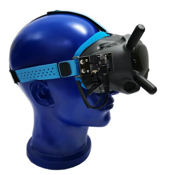 URUAV 5,8G RX порт 2,0 DJI цифровой FPV очки моделирование приемник доска для DJI Fatshark FPV очки