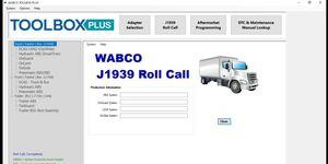 Image 1 - Wabco Meritor ארגז כלים בתוספת 13v + ECAS + סדק