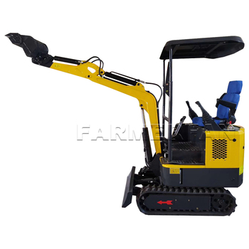 цена на new design high quality China 1ton mini excavator factory price used for garden farmland in stock
