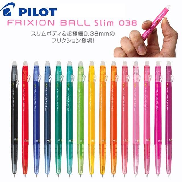 Pilot FRIXION Pen slim Erasable Gel Pen Ball Point 0.38 mm Japan LFBS 18UF 2018