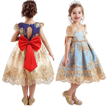 Christmas Toddler Girl Dresses For Little Girl School Wear Children Wedding Holiday Clothing Kids Party Dresses For Girl 8 10T