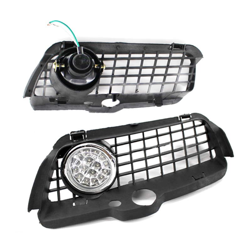 2pcs LED/halogen Fog <font><b>Light</b></font> Driving Lamp Grille with Connecting Wire Cable for Volkswagen for <font><b>VW</b></font> <font><b>MK3</b></font> <font><b>Golf</b></font> for Jetta 1992-1998 image