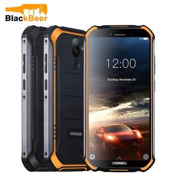 Перейти на Алиэкспресс и купить Смартфон DOOGEE S40 Lite, 5,5-дюймовый прочный IP68 сотовый телефон, 2 ГБ 16 ГБ, четырехъядерный, Android 9,0, мобильный телефон, 4650 мАч, сканер отпечатка пальц...