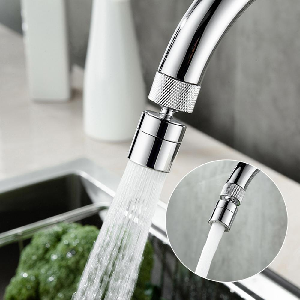 Kitchen Shower Faucet Aerators Rotatable Bubbler Faucets Head Extender Water Saving Tap Nozzle Adapter Sink Accessories