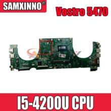 Оригинальная материнская плата для ноутбука DELL Vostro 5470 V5470 Core SR170 I5-4200U материнская плата CN-0FX16M 0FX16M DAJW8CMB8E1