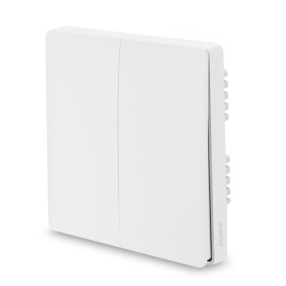 Image 5 - Original Aqara Switch Wall Device Smart Light Switch Remote Control Single Fire/Zero Line ZigBee For Mijia Mi Home GoldSmart Remote Control   -