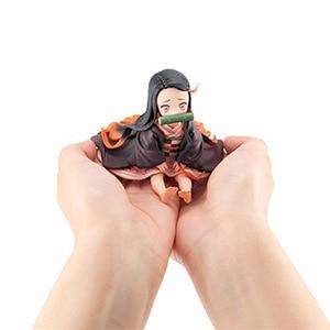 Image 5 - Фигурка Kimetsu no yaiba, фигурка nezuko tanjirou zenitsu, аниме фигурка рассекающего демонов, экшн фигурка из ПВХ, коллекционные модели, игрушки, подарки, 6,5 18 см