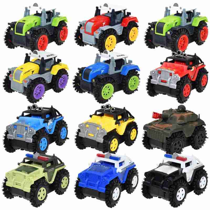 Children Electric Stunt Toy Car For Children Dump Truck Simulation 4 Wheels Drive Christmas Gifts Toy Car