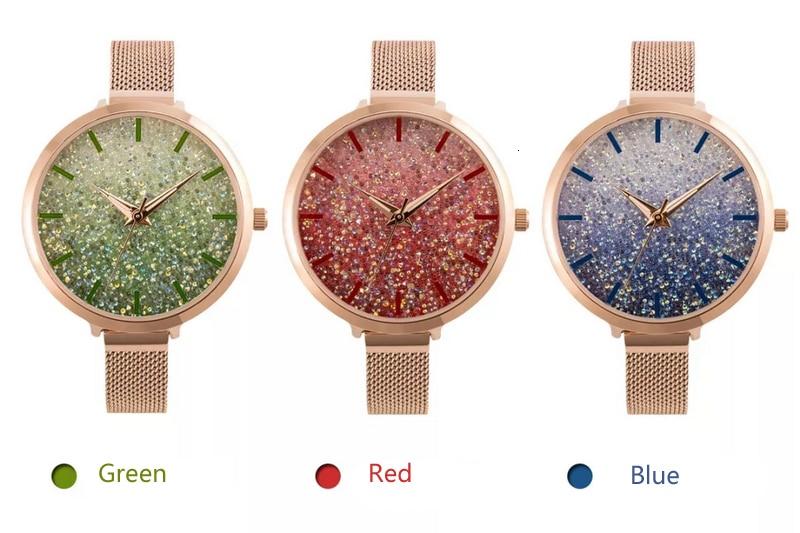 moda pulseira relógios senhoras áustria cristal relogio feminino