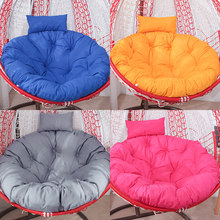 Hanging Basket Cushion Cradle Chair Swing Single Glider Cushion Removable and Washable round Rattan Chair Cradle Cushion