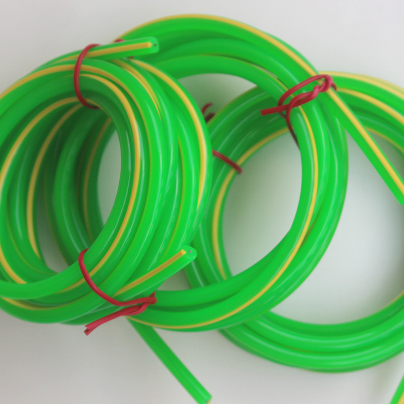PVC Olive Cored Rubber Rope Double Color PVC Cored Jump Rope Double Color Cored Rope Support Customization