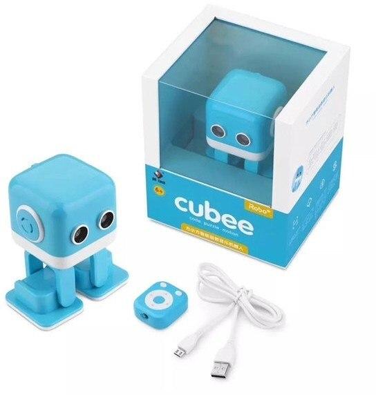 Smart Dancing Robot WLtoys Cubee F9 Blue APP WLT-F9