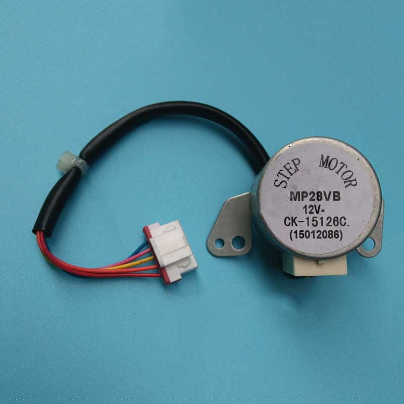 1pcs New For Air Conditioning Wind Motor Stepper Motors Put The Wind Swept MP28VB 12V