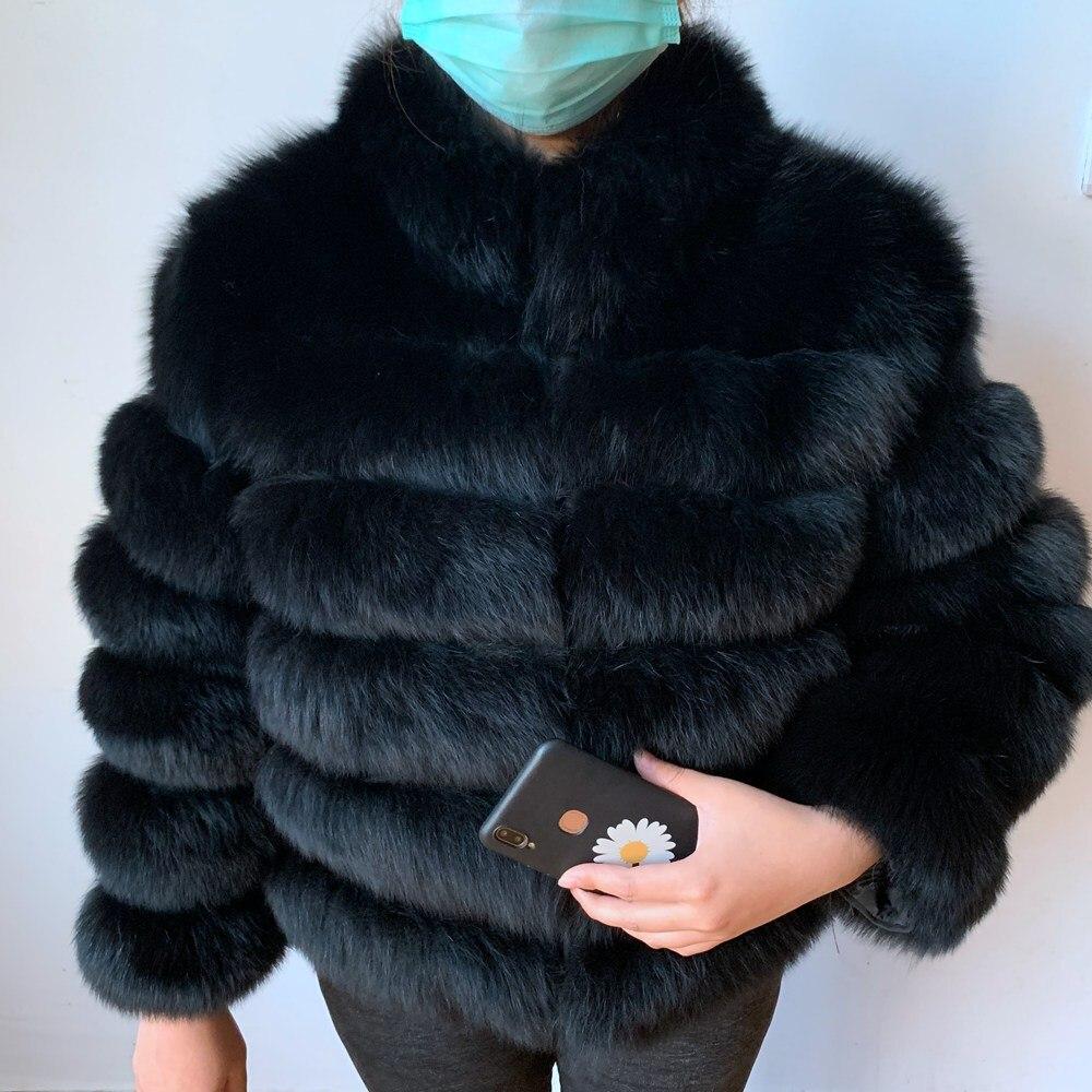 Abrigo de piel auténtica de zorro corto Natural para mujer con cuello levantado, chaqueta de invierno gruesa y cálida, chaqueta de piel de zorro genuina, abrigos de piel de alta calidad Botas de Mujer, zapatos de invierno impermeables, Botas de nieve para Mujer, Botas de invierno para mantener el calor al tobillo con tacones de piel gruesos, Botas de Mujer 2019