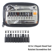 Precision Screwdriver Set 12 In 1 Ratchet Driver Torx Screwdriver Multi Bits Sets Multitools DIY Household Repair Hand Tools 29 sets of auto repair tools screwdriver ratchet screwdriver sets screwdriver t type wrenches cr v 6150