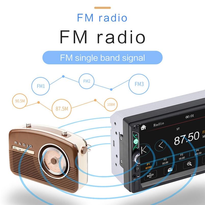 SWM-S7 7 Inch HD Touc-h Big Screen Car BT MP5 Player Car MP3 Card Machine FM With CD Player DVD 50AUG1207