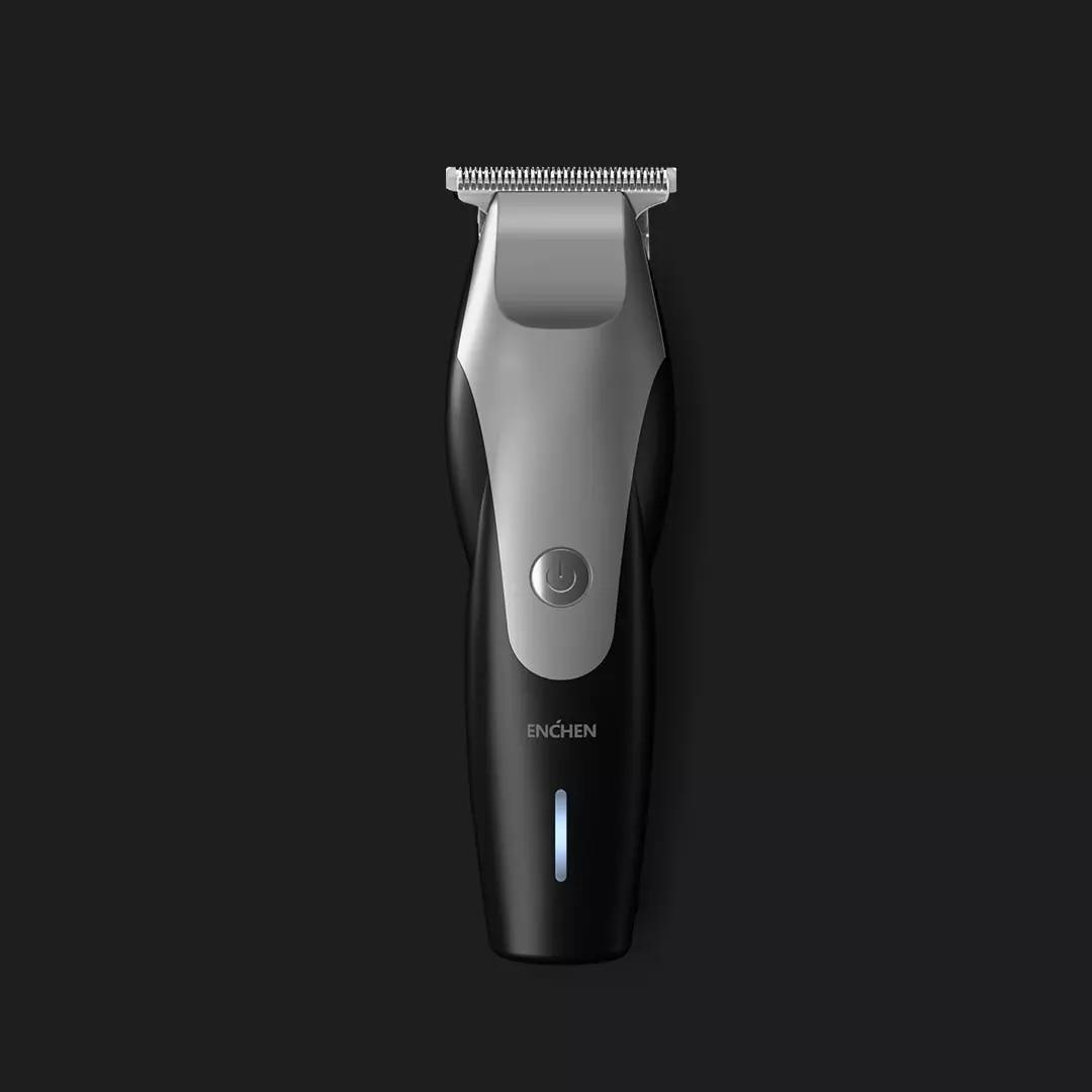 Image 5 - XIAOMI ENCHEN Hummingbird электрическая машинка для стрижки волос usb зарядка с низким уровнем шума триммер для волос с 3 щетками для волос черныйТриммеры для волос   -