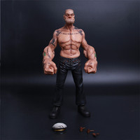 [Top] Very cool 30cm Popeye the Sailor man action figure resin model statue toy Collection model child adult gift