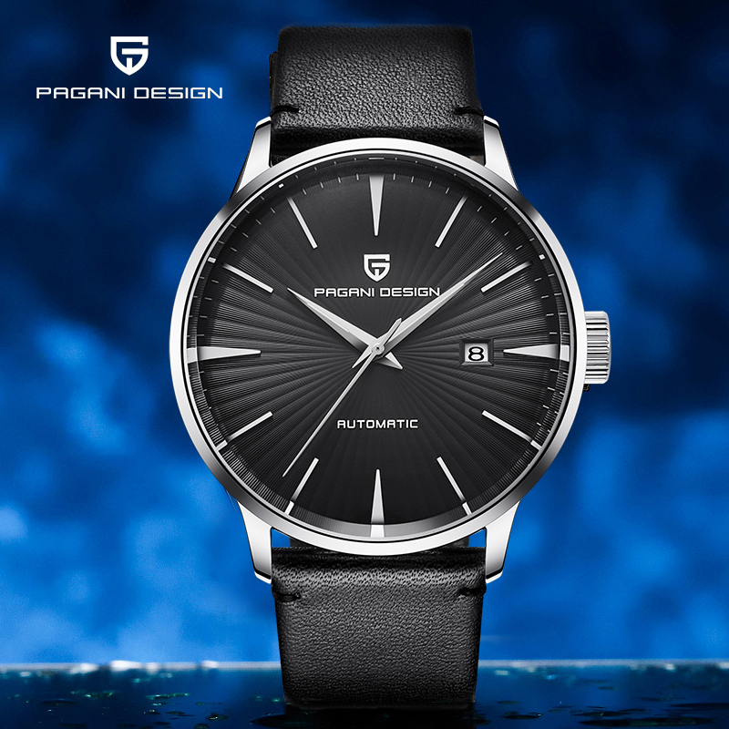 PAGANI DESIGN Top Brand Men's Watches Stainless Steel 30m Waterproof Wristwatch Automatic Mechanical Watch For Men reloj hombre
