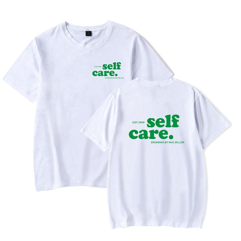 Summer Hot Sale Mac Miller T Shirt Men Women Summer Fashion Cool Mac Miller White T-Shirt Cotton Harajuku Hip Hop T-shirts XXS