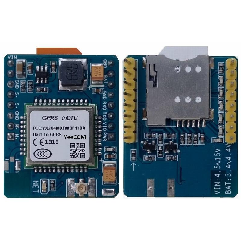 Embedded GPRS InDTU TTL Serial Port Module Transparent Transmission HTTP MQTT Cloud Platform Polling Acquisition