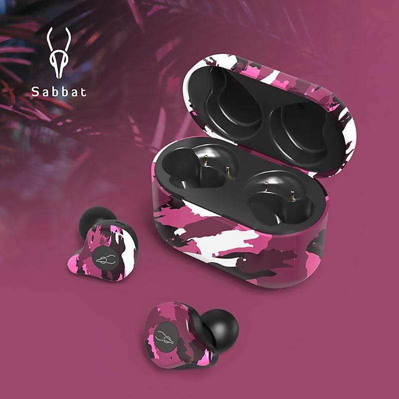 Sabbat E12 Ultra наушнки беспроводние TWS Bluetooth 5.0 Earphone aptX Earphone Outdoor Camouflage In-Ear Earphones image