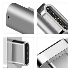 Image 5 - New 24 PINS Magnetic Type C Magnetic Adapter For Pro MateBook Fast Charging TYPE C Port Laptop Magnet USB C Data Cable Adapter