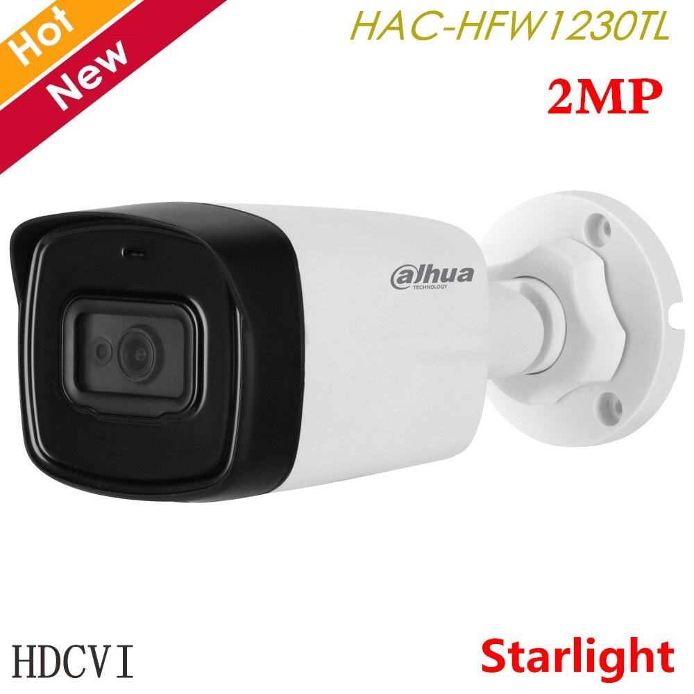 Dahua 2MP Starlight HDCVI IR Bullet Camera HAC-HFW1230TL HD/SD Output HDCVI Camera Outdoor Camera For Cctv System