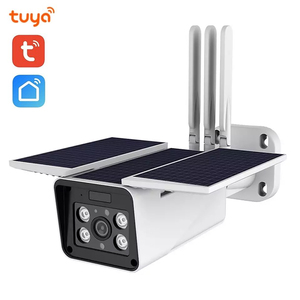 Tuya смарт-камера наружная Солнечная камера HD 1080P Сеть двухсторонняя аудио IP66 проводка бесплатно