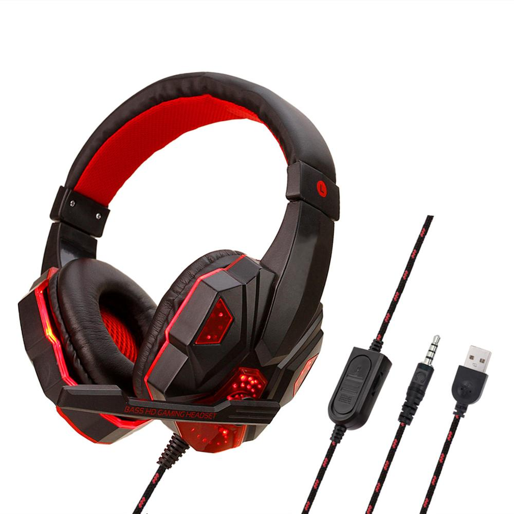 SY830MV Gaming Headphones For Nintendo Switch PSP PS3 PS4 Pro Xbox One Pro With Microphone Professional Stereo Gaming Headset image