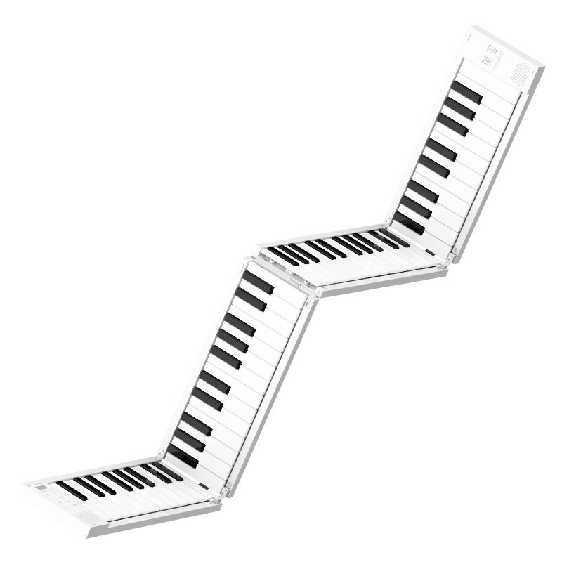 Multi Style Portable Hand-rolled Piano 88 Folding Keyboard Professional Adult Practice Portable Electronic Piano For Beginners