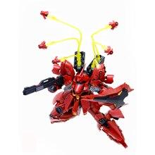 Yüzen Tabanca Genleşme Etkisi Parçaları Için Bandai RG HGUC 1/144 Sazabi Gundam model seti