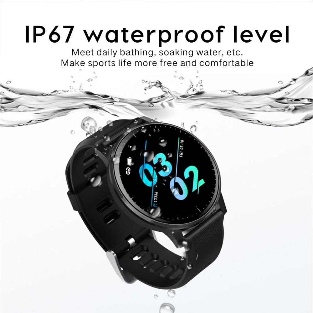 Smartwatch Fitness-Tracker Heart-Rate Bluetooth Waterproof Women for Bracelet New