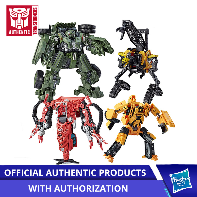 Hasbro Transformers Classic Movie Voyager Series Stir Master SS53 Toys Studio Series Voyager Class SS42 Long Haul SS37